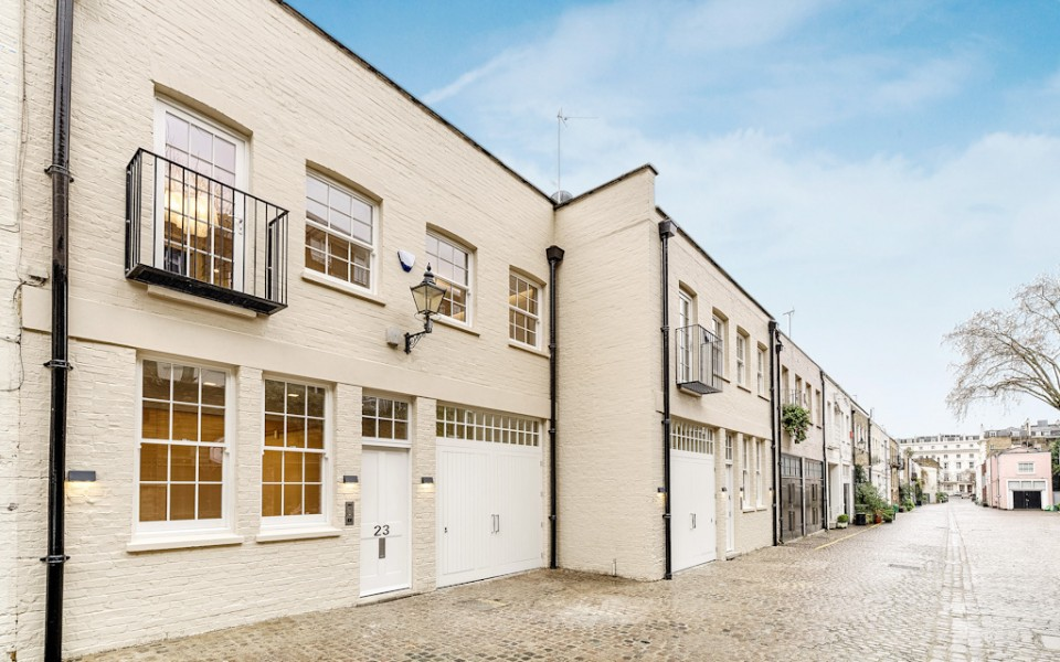 Queen's Gate Mews architectural redesign